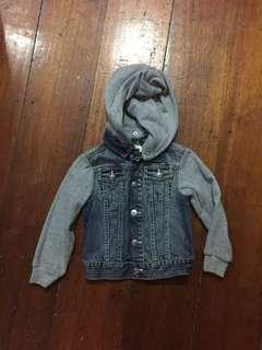 H&M Kids Denim Jacket size 4-5 Years Old