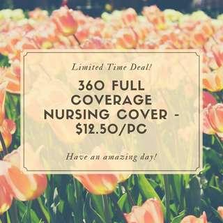 360 Full Coverage Nursing Cover