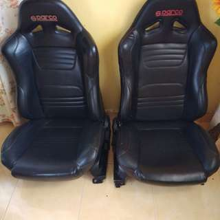 Seat bucket sparco bride sscus recaro