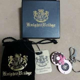 🚚 Knights Bridge KB 專櫃正品 甜甜圈造型時間錶鑰匙圈