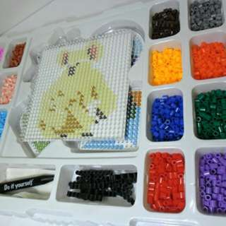 Colourful Perler Beads