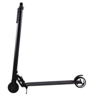 (LTA compliance) - Black Urban Lightweight Electric Scooter 25km/h