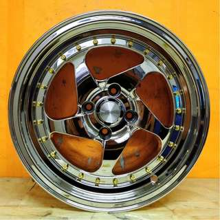 SPORT RIM 15inch CHROME WHEEL