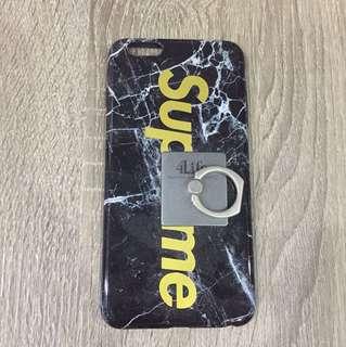 Supreme Marble iPhone 6 plus case