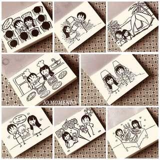 Customised handmade valentine / anniversary sketchbook