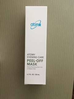Brand New ! Atomy Evening Care Peel off Mask