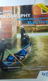 Human Geography Elective Textbook