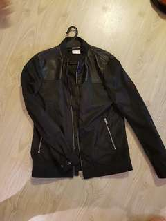 ROMP Black Bomber Jacket