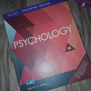 Psychology 3rd Edition (Rathus)