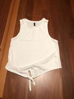 Myer miss shop white singlet
