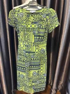 Future State Patterned Dress