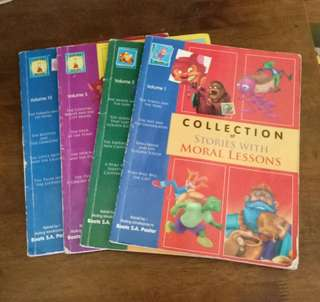 Pre-loved Childrens Books  With Moral Lessons Books (Bundle of 4)