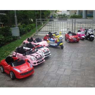 Kids Kiddy rides, toy cars, battery operated cars for rental Or purchase