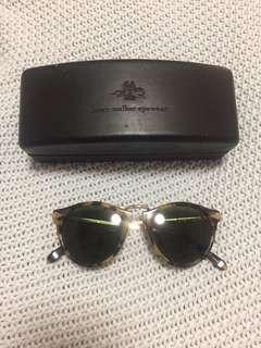 Karen Walker Helter Skelter Tortoisehell & Gold Frame Sunglasses