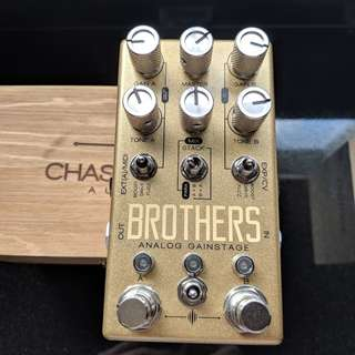 Chase Bliss Brothers Overdrive Fuzz Boost Distortion Midi