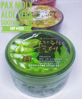 Pax moly aloe vera, tamato and snail soothing gels