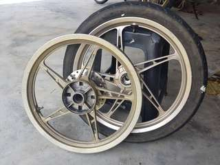 Sport Rim lc135 Rear Disc Brake