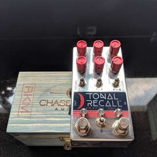 Chase Bliss Red Knob Mod Tonal Recall Delay Pedal