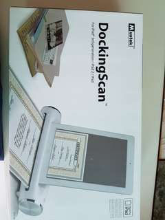 DockingScan for iPad 3rd Generation