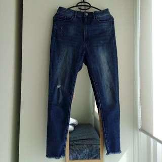 Uniqlo High Waist Slim Fit Jeans