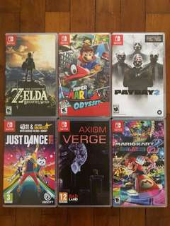 Top and best games to get for Nintendo Switch for sale!