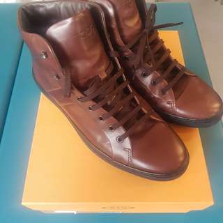 Tods Leather Sneakers