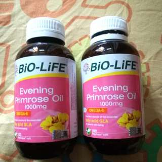 Evening primrose oil 1000mg vitamin