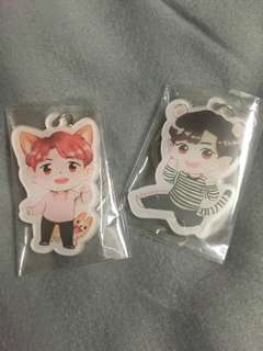 ChanBaek keyring