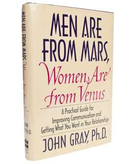 men are from mars women are from venus - hard cover