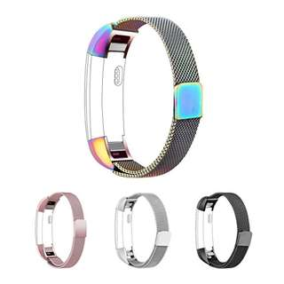 173. Fitbit Alta HR Accessory Bands and Fitbit Alta Band Metal Mesh Accesorry Replacement Bands, Chrome