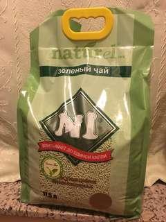 天然玉米豆腐貓砂綠茶味(17.5L)