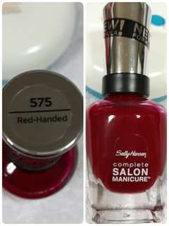 SALLY HANSEN CUTEX
