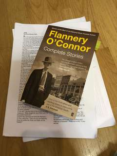 En2201 flannery o'Connor and bible