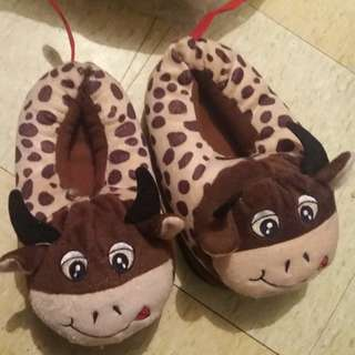New Cow slippers