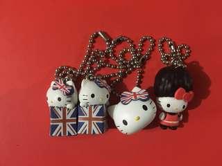 Hello Kitty 英倫風匙扣 2012年出品