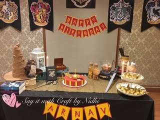 Harry Potter party Photobooth