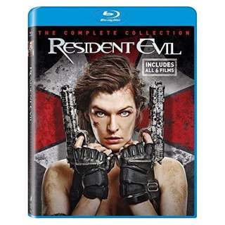 Resident Evil The Complete Collection Blu-ray