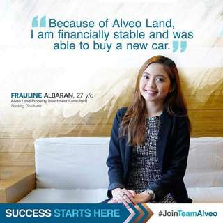 Join Alveo ayala land!!!!
