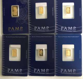 Gold bars - 999 Series
