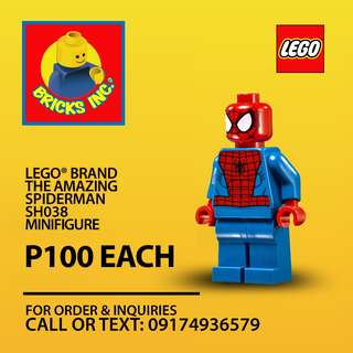 LEGO® The Amazing Spiderman Sh038 Minifigures