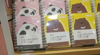 [JASTIP Miniso] Notebook We Bare Bears Limited Edition