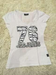 Jag Jeans White T-Shirt