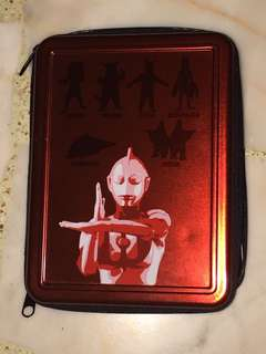 Banpresto 2007 Ultraman Steel Casing with writing pad.