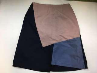 全新Majestic Legon MJ 女裝 半截裙 拼色款 OL 斯文款 橡筋褲頭