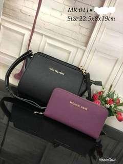 Raya Sale!! Michael Kors Bag and Wallet Set