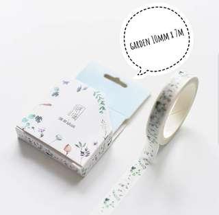 [T]Garden washi tape