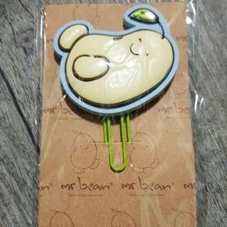Mr Bean Paper Clip