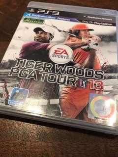 PS3 Games Tiger Woods PGA tour 13