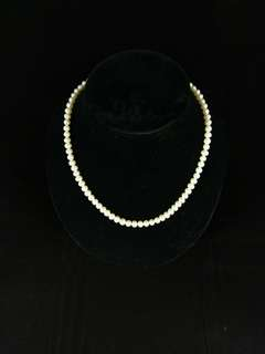 (new) 16吋天然淡水珍珠頸鏈 母親節禮物 結婚飾物 pearl necklace, mother day gift, wedding accessory (stock: 5pcs)