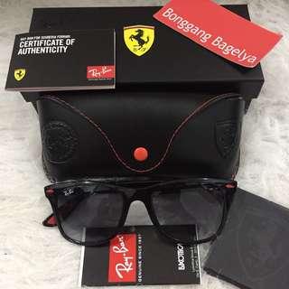 Authentic Rayban Ferrari Edition